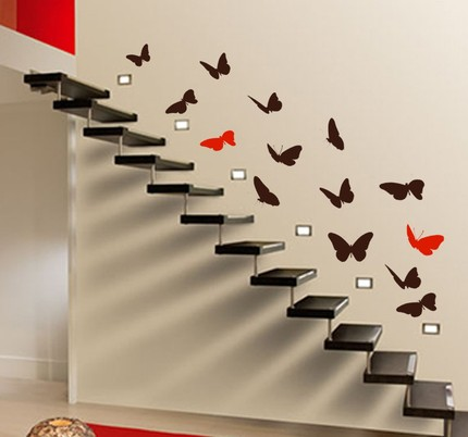 butterflies-staircase