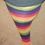 Harvest Rainbow Thigh High